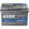 Exide EA770 Premium 77 ah 760A (R+) 278x175x190 мм